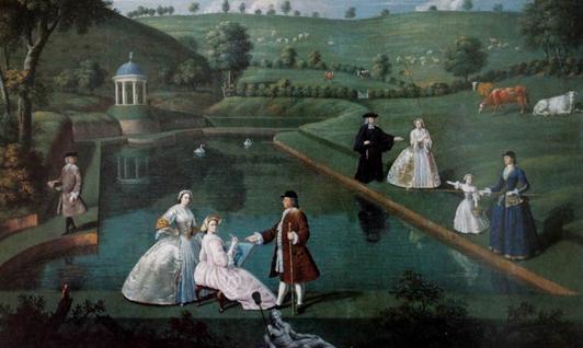 Le jardin a l anglaise et son equivalent litteraire le roman
