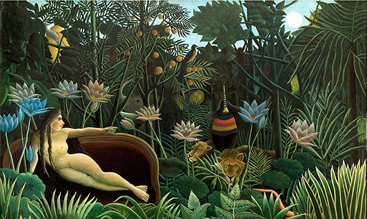 Douanier Rousseau - le Reve