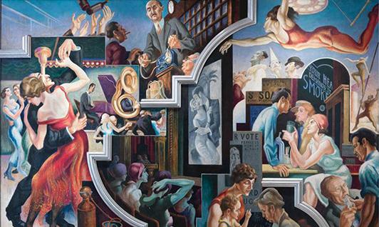 La Peinture Americaine des années 1930, du rêve Américain au cauchemar des Etats-Unis