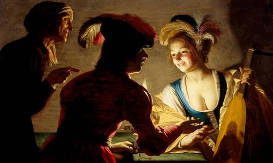 Peindre en Europe au 17ème siècle - Johannes Vermeer, Valentin de Boulogne