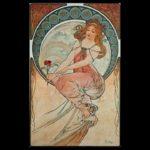 Alphonse Mucha, ou afficher la femme