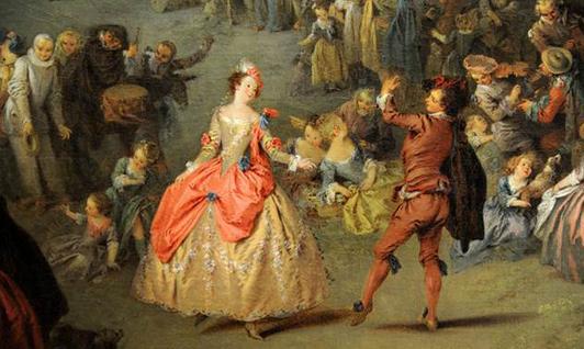 De Watteau à Fragonard, les fêtes Galantes