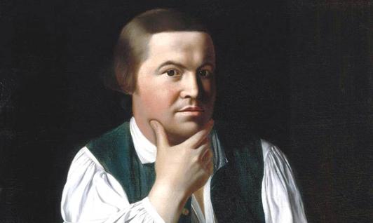 Paul Revere ou la revendication d'une liberté