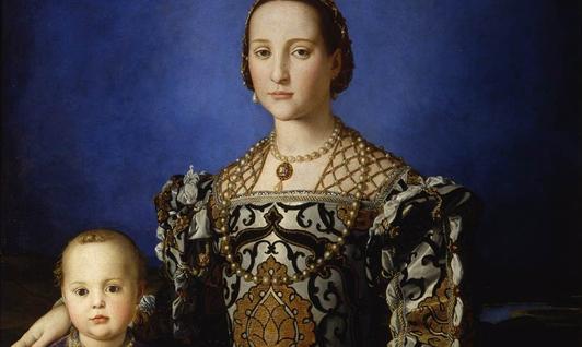 Florence, Portraits à la cour des Médicis